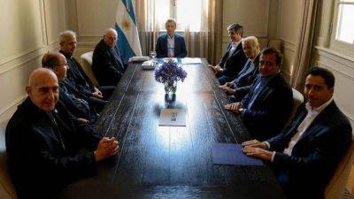 Visita de la Comisión Ejecutiva al Presidente de la Nación