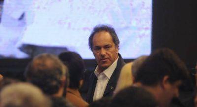 """Scioli dijo que no será """"indiferente"""" a una posible candidatura"""