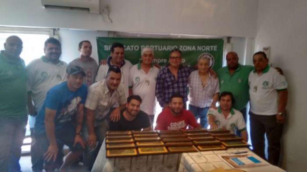 Asumieron nuevas autoridades del Sindicato Portuarios Zona Norte