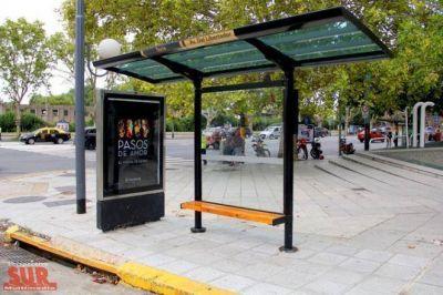 Invertirán $ 226 millones para renovar refugios del transporte público en el Conurbano