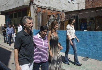 Larreta junto a Macri en Los Piletones