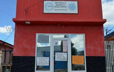 La sede de UPSRA continúa ocupada