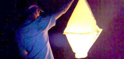 Refsa dijo que un globo aerostático pirotécnico provocó el corte de luz en la ciudad el domingo