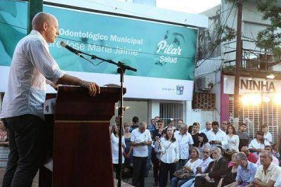 Se inauguró el primer Hospital Odontológico municipal de Pilar