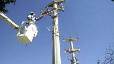 EPEC intenta restablecer el servicio en las zonas afectadas por las tormentas