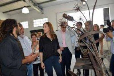 Vidal en inauguración del nuevo Espacio Cultural