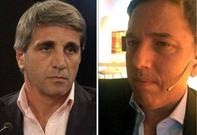 Nicolás Dujovne y Luis Caputo, vinculados al dólar futuro