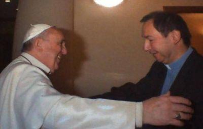 """Padre Mauricio Scoltore: """"Con mi llegada a Bolívar no se viene la Tinellización de la iglesia, yo trabajo con personalidad propia y autonomía"""""""