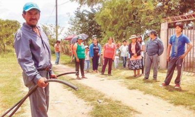 Unos 360 vecinos no tienen agua desde hace cinco días