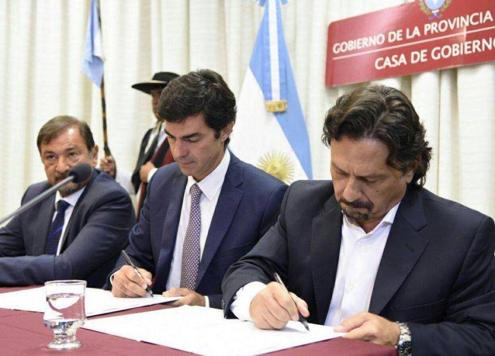 Urtubey y Sáenz acuerdan obras por más de 40 millones de pesos