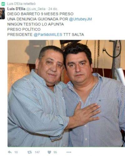 ¿Un preso político en Salta?