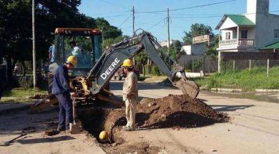 La SAT realiza trabajos de ampliación en la red cloacal de Tafí Viejo