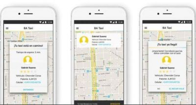Se viene la nueva aplicación para pedir taxis: ya la descargó el 40% de los choferes