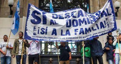 Ganó el lobby: declaran inconstitucional el descanso dominical en Rosario