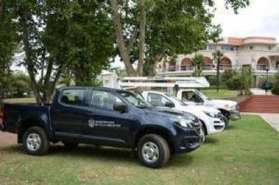 Presentaron nuevos vehículos para el municipio con una inversión de $1.500.000
