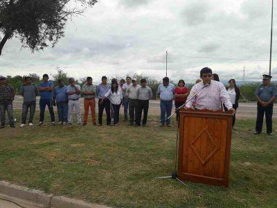 Construyen una planta depuradora de agua en La Viña
