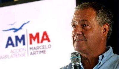 """Marcelo Artime: """"A los problemas de seguridad y trabajo, le queremos aportar soluciones con equipo y mirada de futuro"""""""
