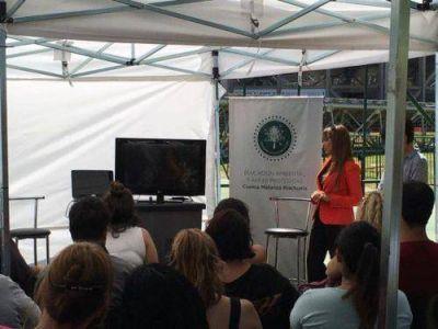 Lomas participó del seminario de Educación Ambiental de Acumar