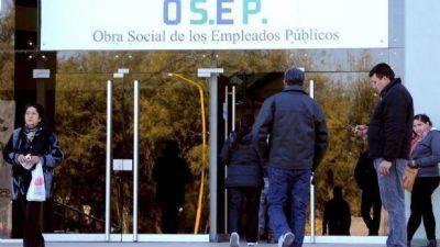 Especialistas emplazan a Osep a pagar toda la deuda