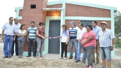 Entregaron viviendas sociales en Robles y San Martín