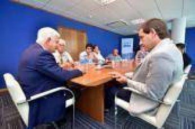Garro se reunió con las autoridades de ABSA: