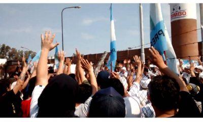 San Martín: paro y corte de trabajadores despedidos de Bimbo