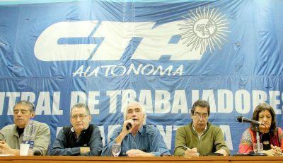 La CTA Autónoma se diferenció de la conducción nacional e inauguró su propia sede