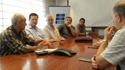 Sin Héctor Gay, se reunieron autoridades de EDES con los delegados municipales