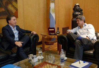 Cumbre y traspaso: Alfonso Prat-Gay recibió a Nicolás Dujovne