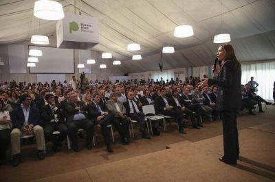 María Eugenia Vidal encabezó una reunión de Gabinete ampliado