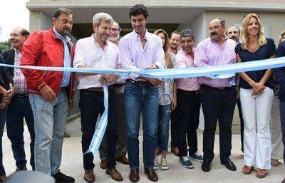 Frigerio y Urtubey inauguraron una escuela e inspeccionaron obras