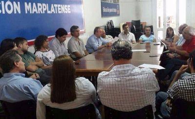 Referentes del Socialismo y de Acción Marplatense se reunieron para