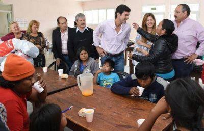 En Tartagal, Urtubey se reunió con vecinos evacuados por las intensas lluvias