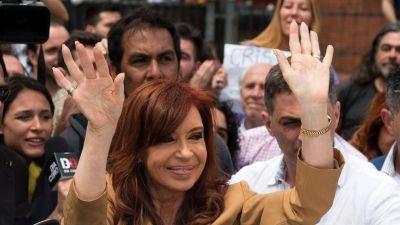 Cristina mostró un gráfico de los bienes de toda la familia Kirchner