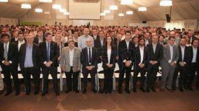 Vidal cerró el primer año de gestión con su gabinete