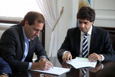 Histórico: Provincia acordó con La Plata el pago de la Tasa de Capitalidad por 240 millones de pesos