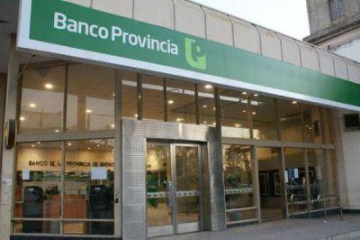 El Banco Provincia anunció créditos blandos para inundados