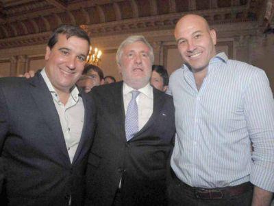 Molina en la jura de Conte Grand