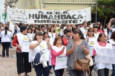 Estatales manifestaron en contra del bono oficial