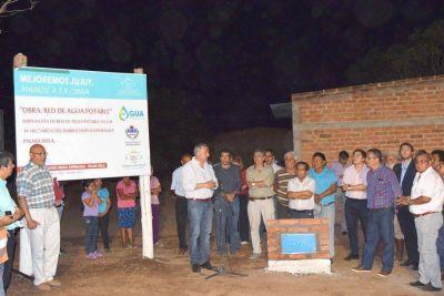 El barrio Esperanza de Palma Sola ya tiene agua potable