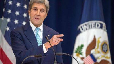 John Kerry recuerda a Israel que la solución de