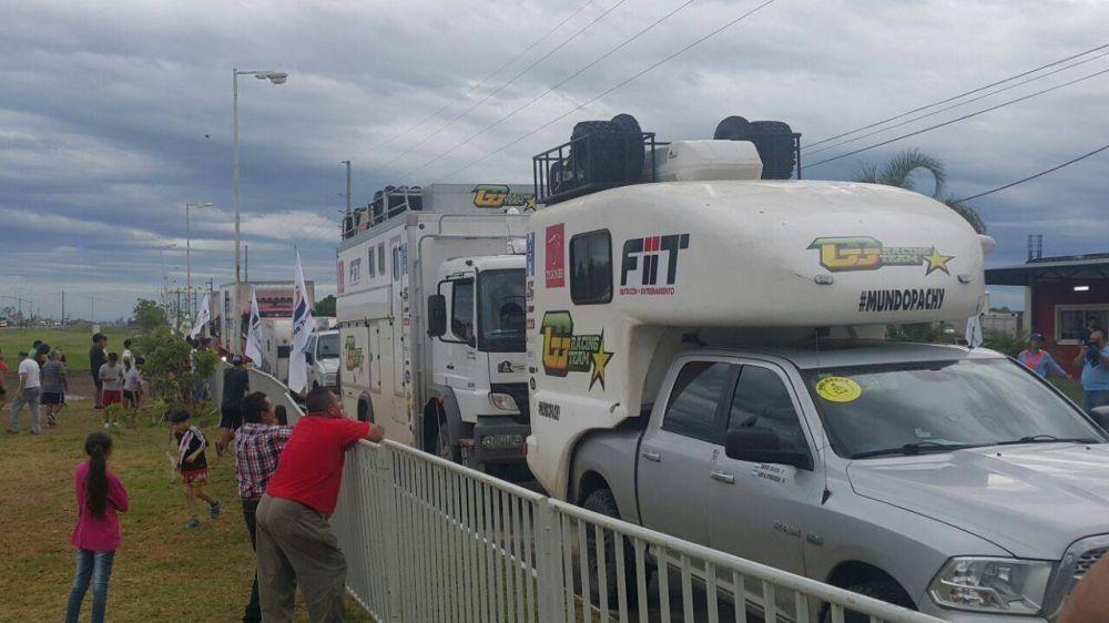 Restringen circulación de transporte de carga por el paso del Rally Dakar