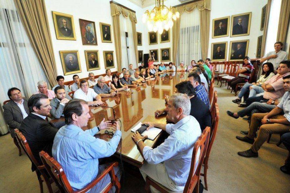 """""""Encontramos un gobernador abierto y dispuesto al diálogo"""", expresó Barbieri"""