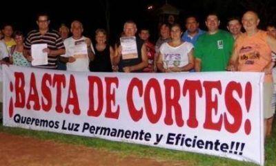 San Javier: EMSA se comprometió a realizar en 15 días los arreglos urgentes para normalizar el servicio