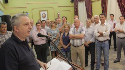 """""""Más trabajo y más austeridad"""", pidió Passalacqua a sus ministros en la última reunión de gabinete del año"""