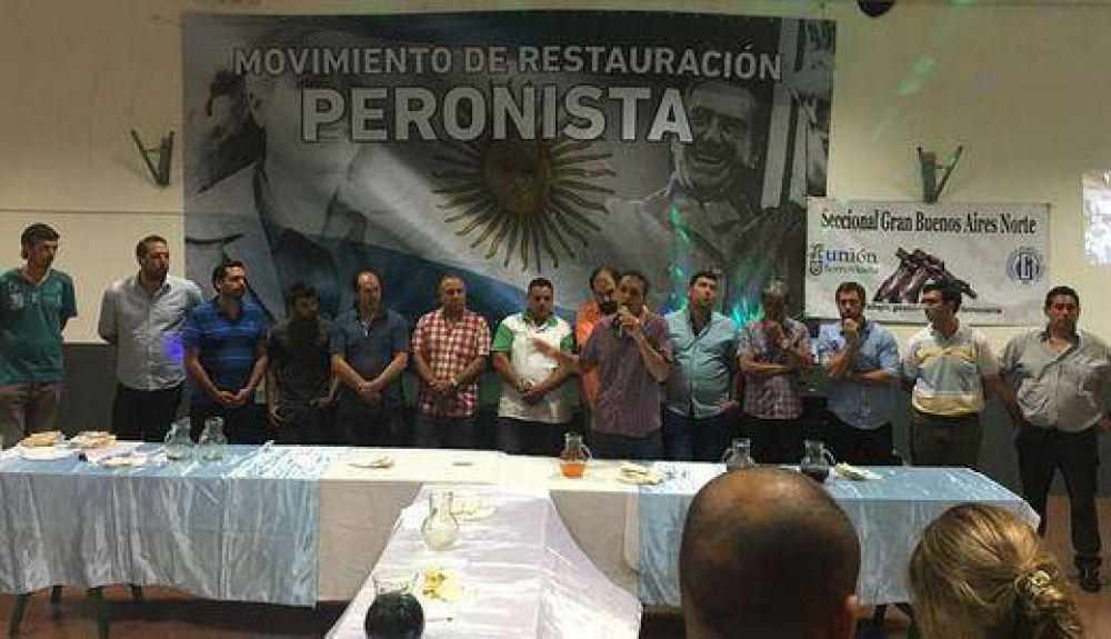 El Movimiento de Restauración peronista cerró el año junto a Katopodis