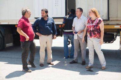 El Municipio acompañó a una empresa marplatense que exportó 20 mil plantas de kiwi
