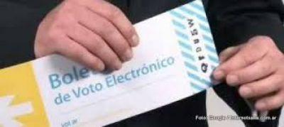 Elecciones 2017: el Tribunal Electoral licita la contratación del servicio de voto con boleta electrónica