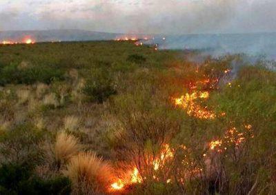 Una sola tormenta generó 30 incendios