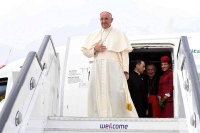 Los viajes del Papa Francisco en 2017